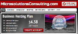 MicrosoutionsConsulting.com powerful, reliable and afordable web hosting and domain registration.